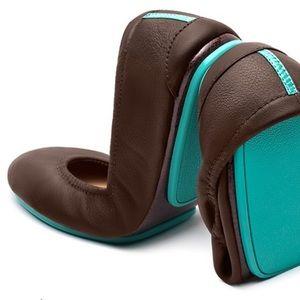 Tieks Womens Ballets leather Flats Brown 9